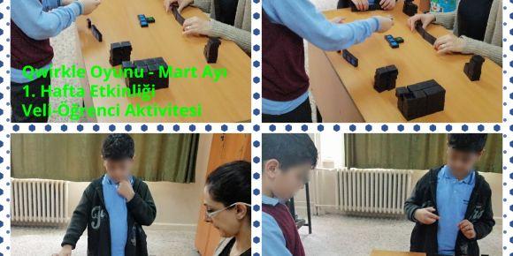 Mart Ayı 1. Hafta Etkinliğimiz Qwirkle Oyunu