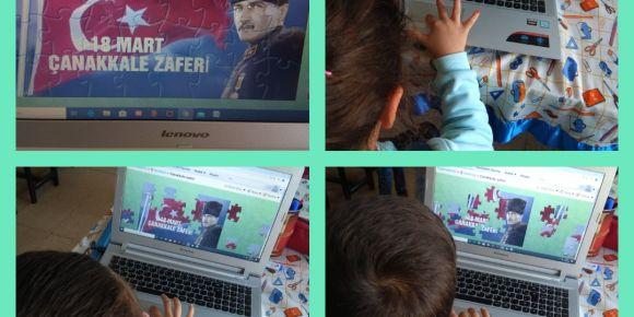WebSÖZ Projesinde Yapbozlarını Yaptılar ve Oynadılar