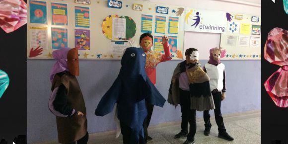 Öğrencilerimiz Hayvan Maskesi ve Kostümü Hazırladılar