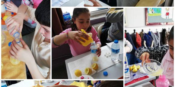 Limonata yaptık