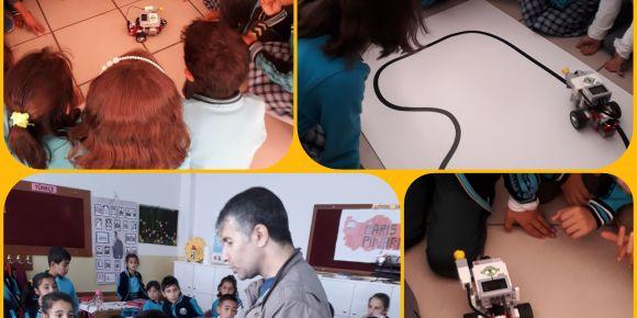 Sınıfımızda Robot  Var