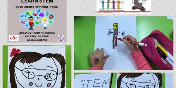 """""""Let's Teach And Learn Stem"""" eTwining Projesi Kapsamında Maskot Seçimi Yapıldı"""