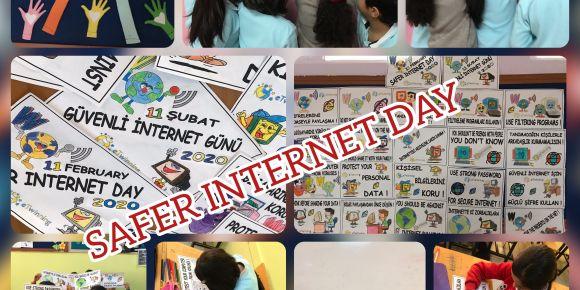 """Vali Aydın Güçlü İlkokulu'nda """"Güvenli İnternet Günü(Safer Internet Day)"""""""
