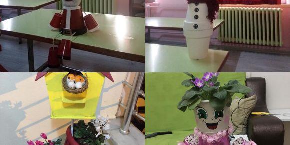 Yunusemreli Minikler Okullarını Çiçek Açtırıyor