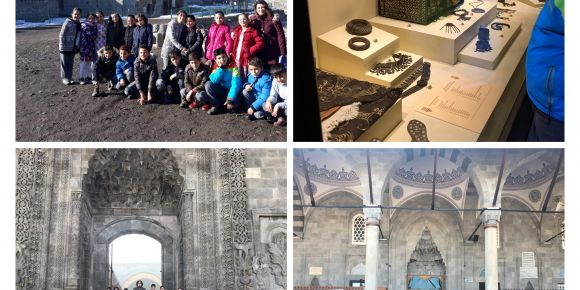 Tarihi mekanlara ziyaret