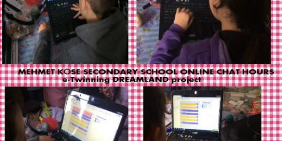 Projemizin öğrenci online chat webinarımızı yaptık