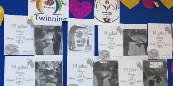Etwinning Biz Okuyan Bir Aileyiz projesi Çağatay Uluçay İlkokulu Anasınıfı/Melek Çaramık