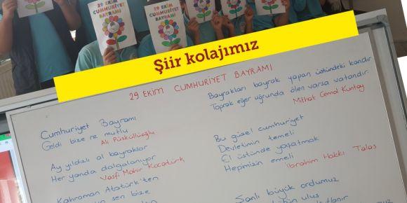 29 Ekim Cumhuriyet Bayramı Coşkumuz Şiir Kolajlarımızla Taçlanıyor