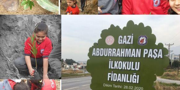 Gazi Abdurrahman Paşa İlkokulu Fidanlığı