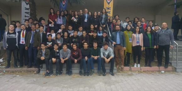 51.Tübitak lise öğrencileri arası bölge yarışması ziyareti