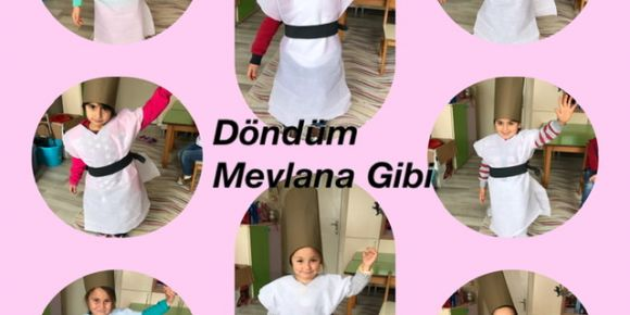 Paşaköy Minikleri Mevlana Celaleddin-i Rumì 'yi Andı