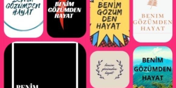 Proje öğrencileri okul proje logosunu seçiyor