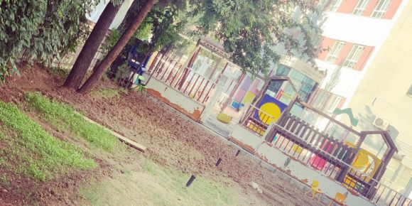 15 Temmuz Şehitleri Anaokulu Hobi Bahçesi Kurdu