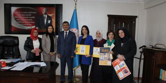 Fatsa Hatice Bahaettin Şener Ilkokulu öğretmenleri projelerini tanıttılar