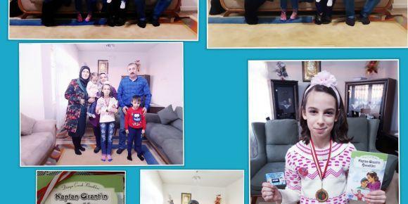 Aileler kitap okuyor 19.haftada