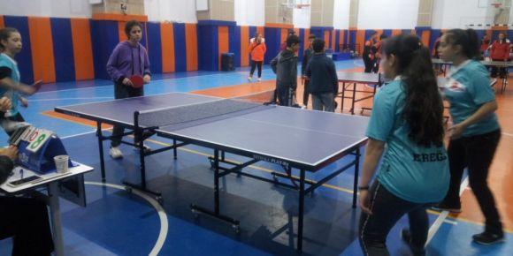 Voleybol da Konya-Ereğli'de Şampiyon Olduk