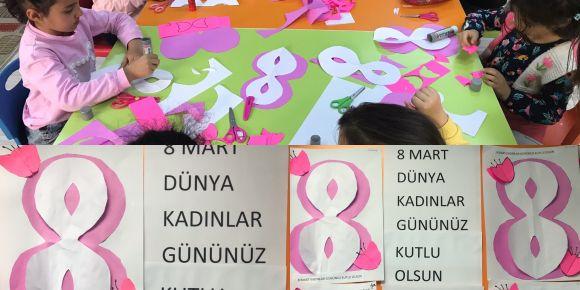 8 Mart dünya kadınlar gününün önemini öğrendik