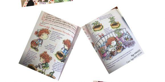 Leyla Atakan İlkokulu 2-A sınıfı öğrencileri domates tohumları ekiyor