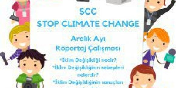 Stop climate change projesi ocak ayı etkinliği