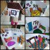 Origami evlerle hikaye anlatımı