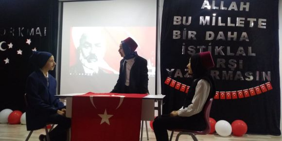 Milli Şairimiz Mehmet Akif Ersoy'u Anma Töreni
